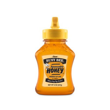 Barkman Honey Busy Bee Clover Honey, 8 oz