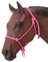 Jt International Rope Horse Halter Pink 501000110 by J.T. International