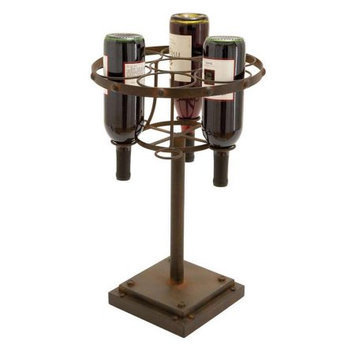 Woodland Import 53889 Wine Holder with Better Grip in Distinctive Pattern