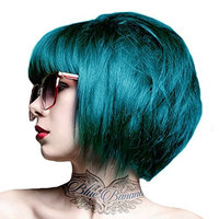 2 x Crazy Color Semi Permanent Hair Colour Dyes by Renbow 100ml Peacock Blue 45