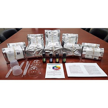 Bath Bomb Factory Kit Makes 280 Eaches/Choose 4 Essential Oils! (9610)