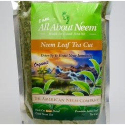 Neem Leaves - Natural, Tea Cut Leaves, Organic 16 oz, Loose, Green, Crushed,Fresh Handpicked Slow Dried Under Shade. Make Your own Tea and neem Leaf Extract!