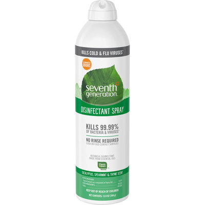 Seventh Generation Eucalyptus, Spearmint & Thyme Disinfectant Spray