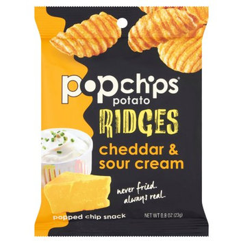 Popchips Inc Popchips, Chips Rdgs Chdr; Sr Crm, 0.8 Oz (Pack Of 24)