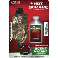 Wildlife Research Center Dripper Combo, Synthetic Hot Scrape 4 oz