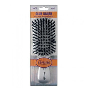 [Pack of 6] Annie Hard Club Brush #2067 Silver : Beauty