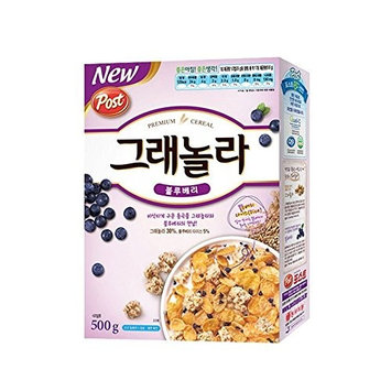 Dongsuh Post Granola Blueberry 500G