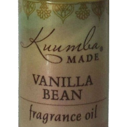 Kuumba Made Vanilla Bean Fragrance Oil 0.5 Ounces (1-Unit)