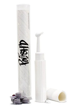 POLISH'D Premium Tooth Polishing Kit w/ Professional Strength Tooth Polish - Grape (Medium Grit)