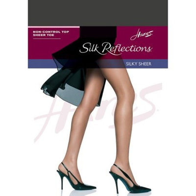 Womens Non Control Top Sandalfoot Silk Reflections Panty Hose