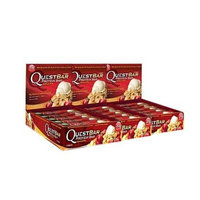 Quest Nutrition Protein Bar, Apple Pie, 20g Protein, 6g Net Carbs, 190 Cals, High Protein Bars, Low Carb Bars, Gluten Free, Soy Free, 2.1 oz Bar, 12 Count [Apple Pie]