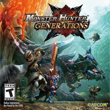 Nintendo Monster Hunter Generations 3DS (Email Delivery)
