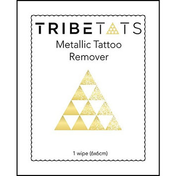Hassle-Free Temporary Tattoo Remover Pads (24 Pack)   Removes Metallic or Regular Tattoos In A Flash, Use On-The-Go   By TribeTats
