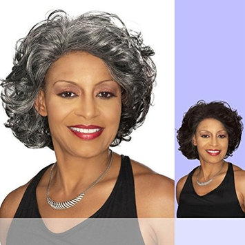 Foxy Silver (Darlene) - Synthetic Lace Front Wig in 1