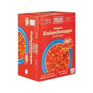 Felix Gulasch Soup From Austria, 2 X 2.5 Kg, Total 5 Kg, Hot Pot