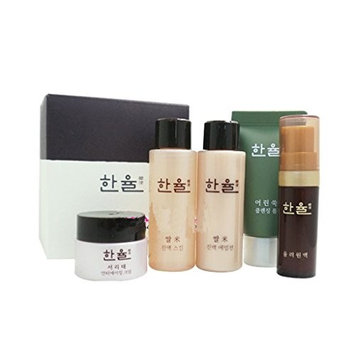 Hanyul Best Gift Travel Kit Set (Moisturizing n Anti-aging, Total 5 Items)