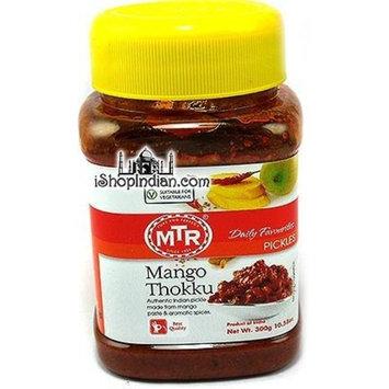 MTR Mango Thokku Pickle, 10.56-ounce, 300g. Plastic Bottle