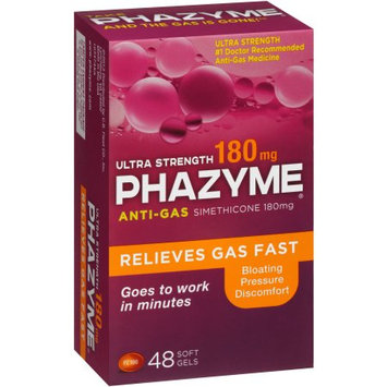 Fleet Phazyme Ultra Strength Gas Relief Soft Gels, 180mg, 48 count