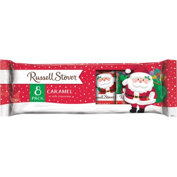 Russell Stover Candies Russell Stover Caramel Santa 8 Pack, 7oz