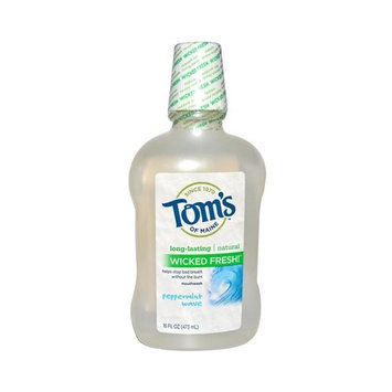 Toms Of Maine Mouthwash Wkdfrsh Ppprmnt