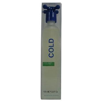 Cold By United Colors Of Benetton For Men. Eau De Toilette Spray 3.3 Ounce