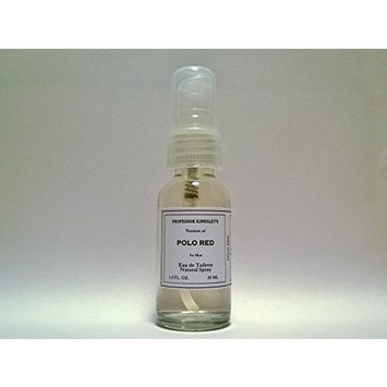 Professor Kingsley's Impression of Polo Red for Men. EDT Natural Spray. Fragrance 18% by Vol.