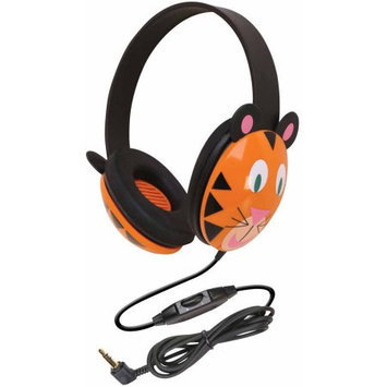 Califone Kids Stereo/Pc Headph Tiger Pc 3.5mm Via Ergoguys - Stereo - Mini-phone - Wired - 25 Ohm - 20 Hz 20 kHz - Over-the-head - Binaural - Ear-cup - 5.50 ft Cable