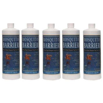 Dynatrap Mosquito Barrier 2001 Liquid Spray Repellent (1-Quart) - 5 Pack