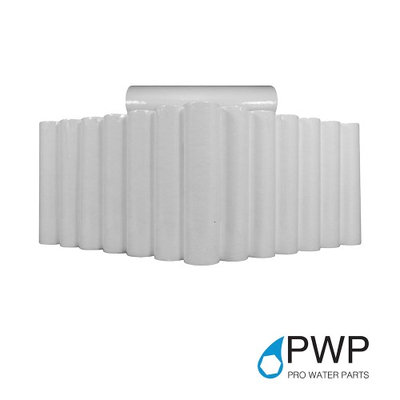 50 Pack PWP 20 Micron 20 X 2.5 Sediment Water Filter Cartridges