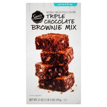 Wal-mart Stores, Inc. Sam's Choice Triple Chocolate Brownie Mix, 21 oz