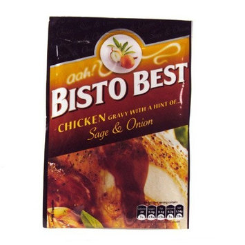 Bisto Best Chicken Gravy Sage & Onion Sachet 30g