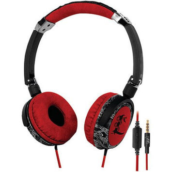 I-tec GDCGamedevco 83003 DJ Large Headphones Red Lethal Audio