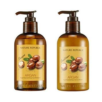 Nature Republic Argan Essential Deep Care Shampoo + Conditioner