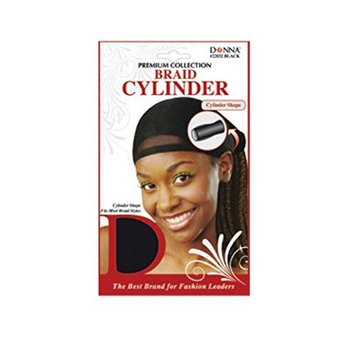 (PACK OF 12) DONNA PREMIUM COLLECTION BRAID CYLINDER #22032: Beauty