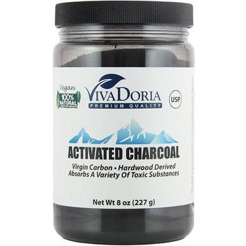 Viva Doria Virgin Activated Charcoal Powder Food Grade
