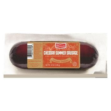 Klement's Cheddar Summer Sausage - 12oz