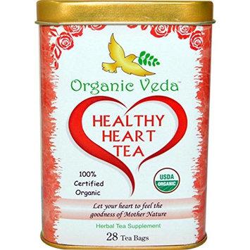 Organic Moringa HEALTHY HEART Tea (28 Potent Tea Bags). USDA Certified Organic. Moringa Tea with Healthy Heart Properties. No Artificial Flavors or Preservatives. NON-GMO and Gluten Free.