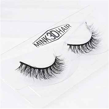 Long Thick Dramatic Look Handmade Reusable 3D Mink False Eyelashes For Makeup 1 Pairs Pack A03