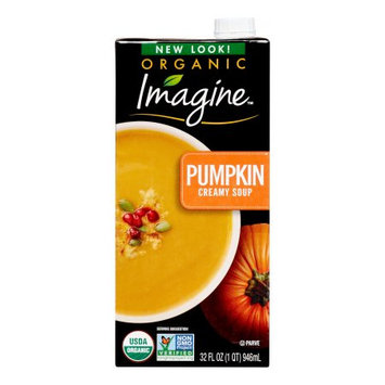 Hain Celestial Imagine Foods Organic Soup, Creamy Pumpkin, 32 Fl Oz