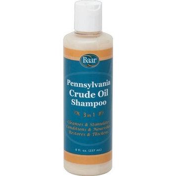 Crudoleum Shampoo, 3-in-1 Pennsylvania Crude Oil Shampoo, 8 Oz.