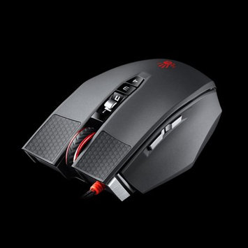 A4tech Bloody TL90 Infrared-Micro Laser Gaming Mouse Advanced Weapon Tuning & Macro Setting 8200CPI, Infrared-Micro Switch Light Strike, Metal X'Glide Boots