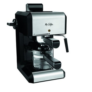 Sunbeam Mr. Coffee Espresso Maker, BVMC-ECM260R, Red