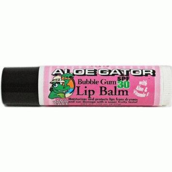 Aloe Gator Lip Balm Spf 30 Bubble Gum