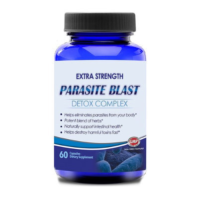 Totally Products, Llc. Parasite Free Detox Cleanse (60 Capsules)