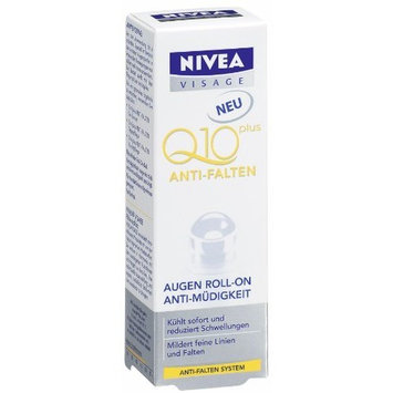 Nivea Visage Q10 Plus Anti-Wrinkle Eye Refreshing Roll-On - 0.34 Fl.Oz / 10Ml