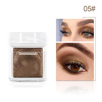 Single Eyeshadow, Alonea Single Shiny Glowing Eye Shadow Powder Palette Thumb Shadow Palettes in Shimmer 8 Metallic Colors Optional