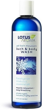 Bath and Body Wash, Rose and Indian Geranium 12.5 Oz by Lotus Aroma