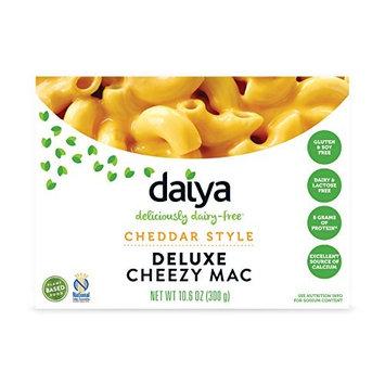 Daiya Cheezy Mac, Cheddar Style :: Rich & Creamy Plant-Based Mac & Cheese :: Deliciously Dairy Free, Vegan, Gluten Free, Soy Free :: Whole Grain Gluten Free Noodles, 10.6 Oz. Box