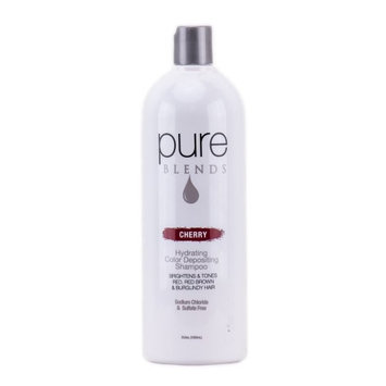 Pure Blends Hydrating Color Depositing Shampoo - Cherry - 33.8 oz