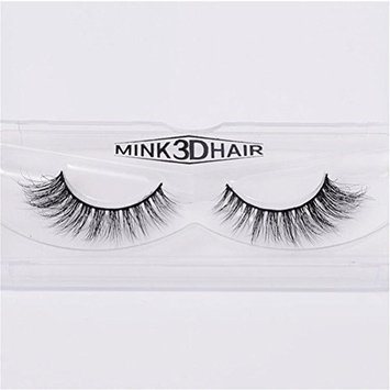 Long Thick Dramatic Look Handmade Reusable 3D Mink False Eyelashes For Makeup Pairs Pack A01